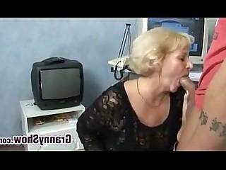 bBW Mierda abuelita duro córneo lencería maduro