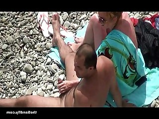 Fuck Outdoor Blowjob Beach Hot Amateur Nude Cumshot
