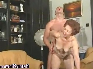 Old and Young Mature Horny Hardcore Granny Teen