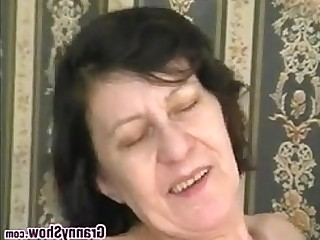 Big Cock BBW Granny Hardcore Horny Mature Old and Young Ride