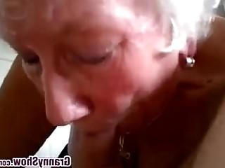 Amateur Blowjob Bus Busty Cumshot Granny Mature POV