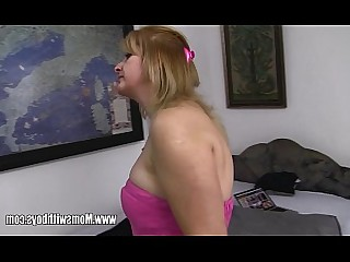Oil Pussy Shaved Big Tits Blonde Blowjob Cougar Fingering