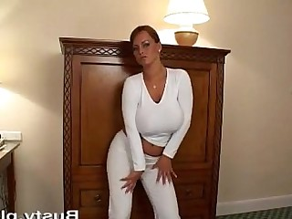 MILF Big Tits Striptease