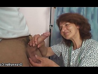 Hot Granny Mature Old and Young Pleasure Pussy Slender Teen