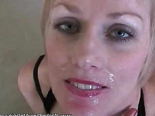 MILF Really Facials Creampie Big Cock Blowjob Blonde Hotel