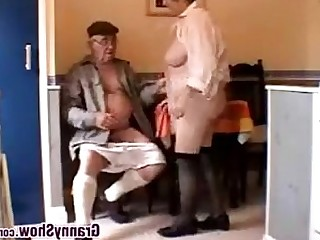 Mature Granny Couple Hardcore Horny BBW Double Penetration