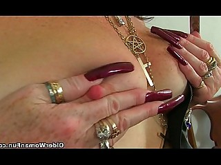 Granny Mature Masturbation HD Cougar