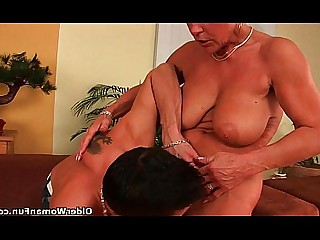 Cougar Granny Hairy HD Mature Old and Young Teen