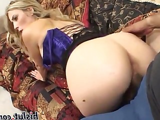 Creampie Whore Anal Nasty Blonde Mature Threesome