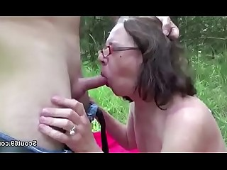 Granny Hairy Hardcore Mature Old and Young Outdoor Seduced Teen