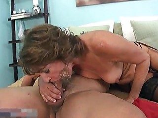 Blowjob Big Cock Granny Hot Mature Sucking