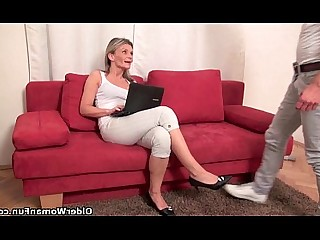 Blowjob Cougar Cumshot Granny HD Hot Mature MILF