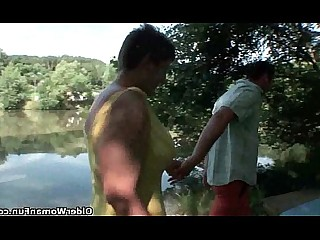 Hot Mammy Fantasy Cumshot Cougar Mature HD Outdoor