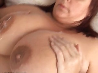 Fatty BBW Cumshot Cougar Big Tits Beauty Hot Housewife