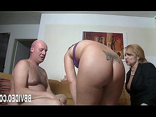 MILF Big Cock Threesome Masturbation Hardcore