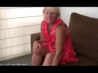Cougar Granny HD Mammy Mature Nylon Orgasm Panties