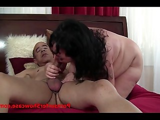 Boobs Beauty Mature Brunette Facials BBW HD MILF