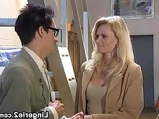 Hardcore Anal Stocking Blonde Fisting Fuck MILF