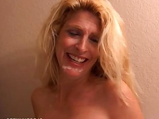 Blonde Boobs Cougar Cumshot Facials Fuck High Heels Hot