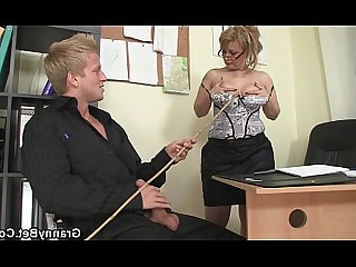 Big Cock Granny Hot Juicy Mature Office Old and Young Pleasure