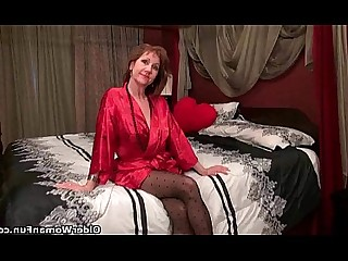 Black Cougar Granny HD Mammy Mature Nylon Panties