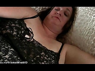 BBW Mammy Mature Solo Cumshot Fatty Granny HD