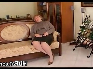 Blonde BBW Granny Handjob Hardcore Horny Mature