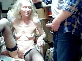 Sucking Mature Granny
