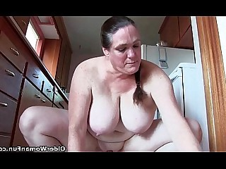 BBW Fatty Granny HD Mammy Masturbation Mature Big Tits