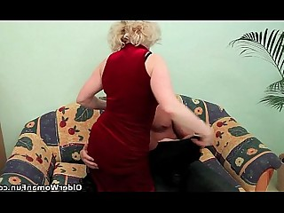 Granny Teen Old and Young Blowjob Big Cock Cougar Cumshot HD