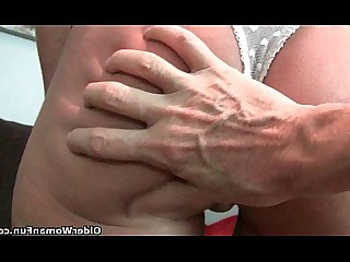 Cougar Granny Hairy HD Mammy Mature Pussy