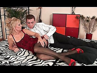 Big Cock Cougar Hardcore HD Mammy MILF Stocking