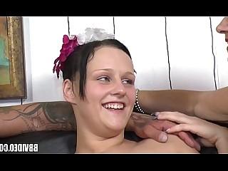 Brunette Couple Fuck Hardcore Mature Teen Threesome