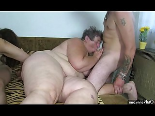 Big Tits BBW Fatty Granny Group Sex Hot Masturbation Mature