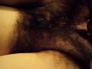 Shower Couple Hairy MILF Pussy Squirting Wife Fuck