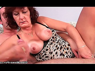 Big Cock Granny Hairy HD Mammy Mature Old and Young Pussy