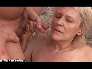 Granny HD Hot Mammy Mature MILF Stocking Cougar