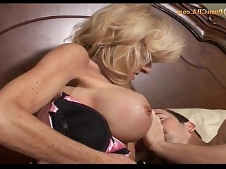 Mature Doggy Style Really Big Tits Blowjob Couple Fuck Granny