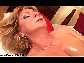 Fingering Fuck Granny HD Mammy Mature MILF Oil