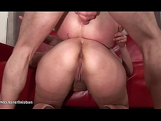 Hot Mature MILF Threesome Amateur Anal Ass Cumshot