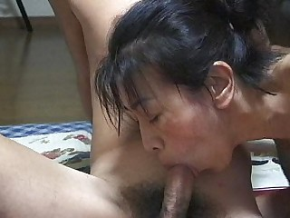 Teen Wife Oral MILF Japanese Housewife