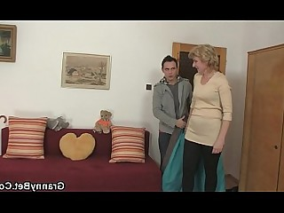 Blonde Cute Fuck Granny Hot Mature Old and Young Pleasure