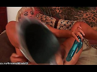 Blonde Masturbation MILF HD Gorgeous Fuck Dildo Cougar