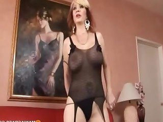 Stocking Shaved Pussy Big Tits Tattoo MILF Black Blonde