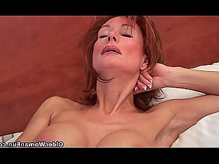 Cougar Dildo Granny HD Mammy Mature Pussy Redhead