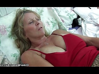 Boobs Granny HD Mammy Mature Nylon Panties Stocking