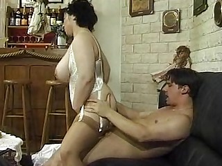 BBW Mature MILF Granny Gang Bang Fatty