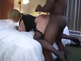 Amateur Interracial MILF Playing