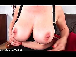 Big Tits Fingering Fuck Granny HD Mammy Mature Pussy