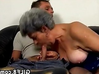 Blowjob Facials Fuck Granny Hardcore Horny Mature
